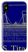 Titanic By Design IPhone Case