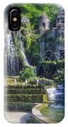 Tivoli Garden Fountains IPhone Case