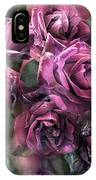 To Be Loved - Mauve Rose IPhone Case