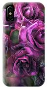 To Be Loved - Purple Rose IPhone Case