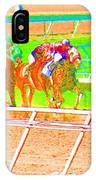 To The Finish Line IPhone Case