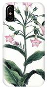 Tobacco Nicotiana Tabacum IPhone Case