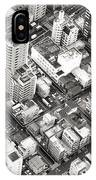 Tokyo City Black And White IPhone Case