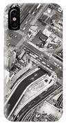 Tokyo Intersection Black And White IPhone Case