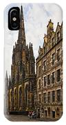 Tolbooth St Johns Kirk IPhone Case