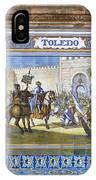 Toledo In The Province Alcove Of The Plaza De Espana IPhone Case