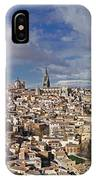 Toledo Old Town Panorama IPhone Case