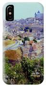 Toledo Spain In Blue IPhone Case