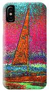 Tom Ray's Sailboat 3 IPhone Case
