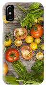 Tomatoes And Herbs IPhone Case