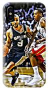Tony Parker Painting IPhone Case