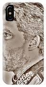 Tony Stewart In 2011 IPhone Case