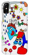 Too Crazy For Me IPhone Case
