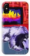Tootsie Fireplace IPhone Case
