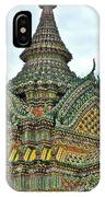 Top Of Temple In Wat Po In Bangkok-thailand IPhone Case