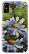 Top Of The Bunch Daisies By Prankearts IPhone Case