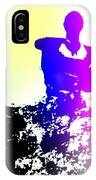 Sitting At The Top Of The Mountain Watching You Climb  IPhone Case