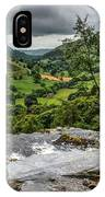 Top Of The Waterfall IPhone Case