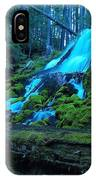 Top Part Of Clearwater Falls IPhone Case