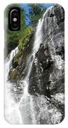 Top Part Of Silver Falls IPhone Case