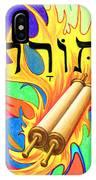 Torah IPhone Case by Nancy Cupp
