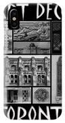Toronto Art Deco 1 IPhone Case