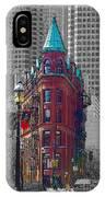 Toronto Flat Iron Building Version 2 IPhone Case