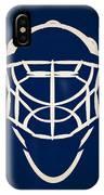 Toronto Maple Leafs Goalie Mask IPhone Case