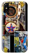Torpedo Tubes Collage Russian Submarine IPhone Case