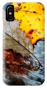 Touching In Time IPhone Case
