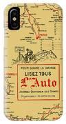 Tour De France 1914 IPhone Case