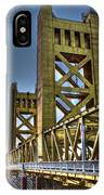 Tower Bridge 4 Sacramento IPhone Case