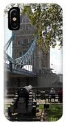 Tower Bridge In The City Of London IPhone Case