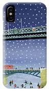 Tower Bridge Skating On Thin Ice IPhone Case