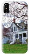 Tower Farm Washburn Maine IPhone Case