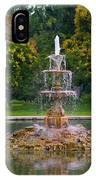Tower Grove Fountain IPhone Case