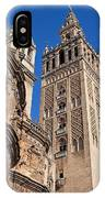 Tower Of The Seville Cathedral IPhone Case