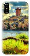 Tower On The Bluff IPhone Case