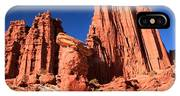 Towering Above The Hoodoo IPhone Case