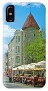 Towers As Gateways To Old Town Tallinn-estonia IPhone Case