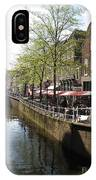 Town Canal - Delft IPhone Case