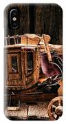 Toy Stagecoach IPhone Case