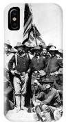 Tr And The Rough Riders IPhone Case