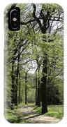 Track Trough The Woods IPhone Case
