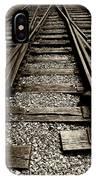 Tracks Into Tracks - 2 IPhone Case