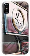 Traction Engine 1 IPhone Case