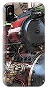 Traction Engine 2 IPhone Case
