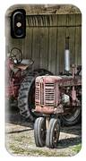 Tractors In The Shed IPhone Case
