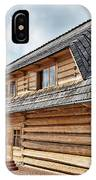 Traditional House In The High Tatra Mountains Poland IPhone Case