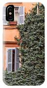 Traditional House Rome Italy IPhone Case